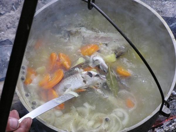 что приготовить на рыбалке вкусно