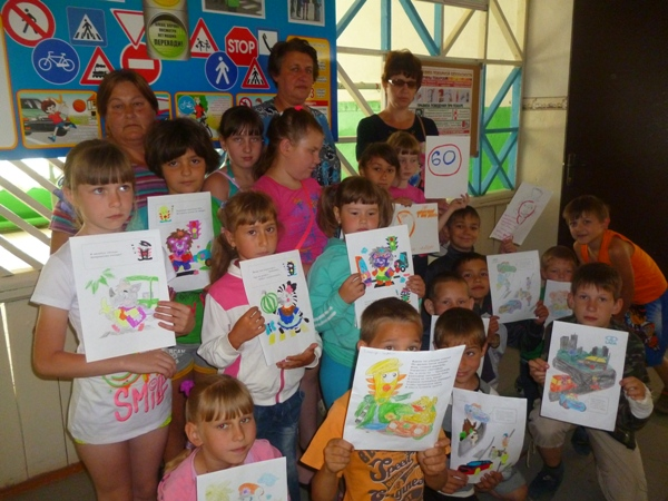 Познавательно-игровую программу для детей провели в Вольском районе