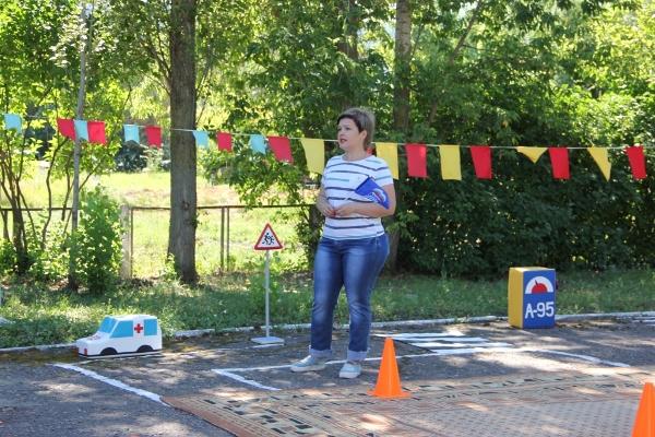Юные жители ЗАТО Светлый поучаствовали в образовательной игре на знание ПДД